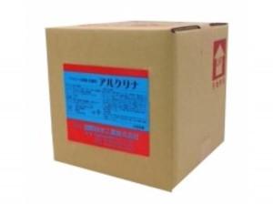 アルコール除菌・抗菌剤「アルクリナ」18L ウイルスに有効な第4級アンモニウム塩配合