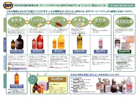 クイックゴー小 (タンパク系しみ抜き剤) 355ml