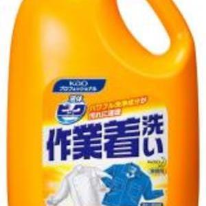 頑固汚れに!「液体ビック作業着洗い」4.5kg (1%ポイント加算)